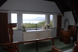 Panoramaausblick aus Church of the Good Shepherd