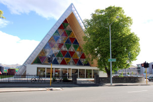 Cardboard Cathedral - Kathedrale aus Pappe