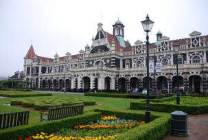 Railway Station Dunedin