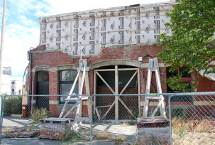 Zerstörte Gebäude Christchurch