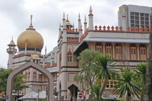 arab-street-3Masjid Sultan Mosque in Singapur