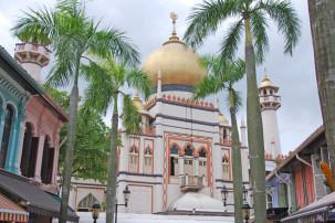 Masjid Sultan Mosque in Singapur