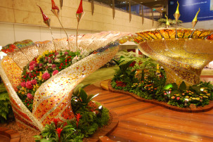 Changi Airport Singapur - Enchanted Garden