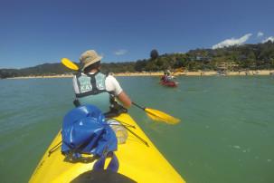 Kajaken im Abel Tasman Nationalpark