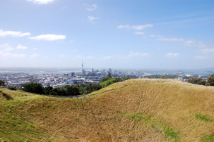 Mount Eden in Auckland