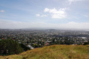 Mount Eden - Blick auf Auckland