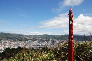 Mount Victoria - Blick auf Wellington