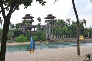 Palawan Beach auf Sentosa