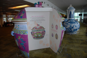 Changi Airport Singapur - Peranakan Exhibition