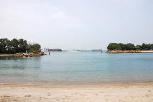 Siloso Beach auf Sentosa