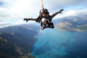 Skydiving in Queenstown