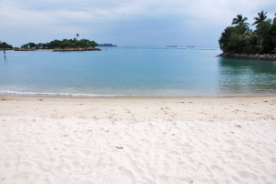 Tanjong Beach auf Sentosa