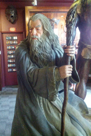 Weta Caves - Gandalf, der Graue