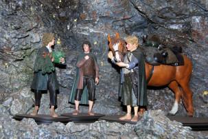 Weta Caves - die Hobbits in Miniatur