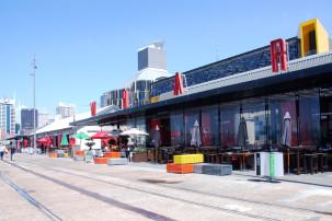 Wynyard Quarter in Auckland