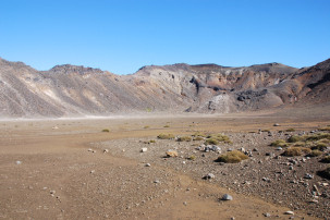 Zwischen South und Red Crater