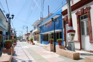 Fußgängerzone in Bayamo
