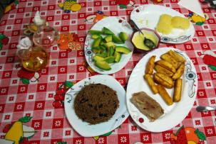 Abendessen in Bayamo