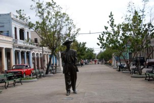 Benny Moré Denkmal in Cienfuegos