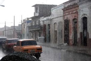 Gewitter in Cienfuegos