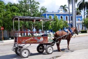 Pferdekutschfahrt in Cienfuegos