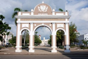 Arc de Triunfo in Cienfuegos