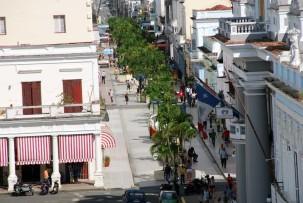 Fußgängerzone in Cienfuegos