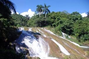 Wasserfall außerhalb des Nationalparks
