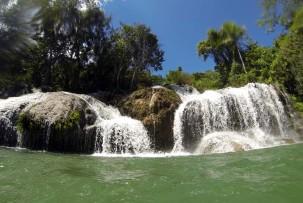 Schwimmen im Poceta de Cristal
