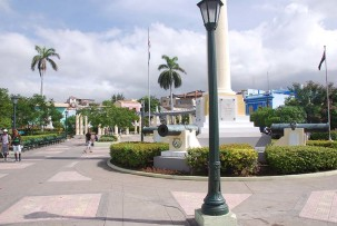Plaza de Marte in Santiago de Cuba