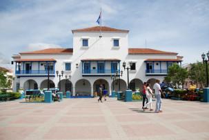Rathaus von Santiago de Cuba am Parque Céspedes