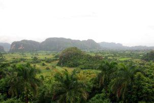 Valle de Vinales - Aussichtspunkt am Hotel Jazmines