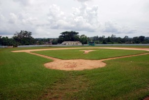 Baseball-Stadion in Vinales